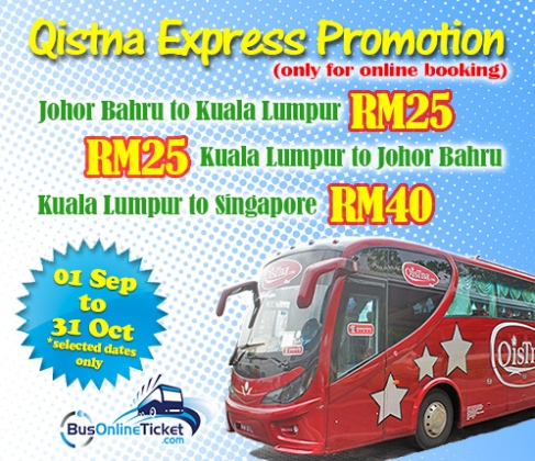 bus from jb to kl