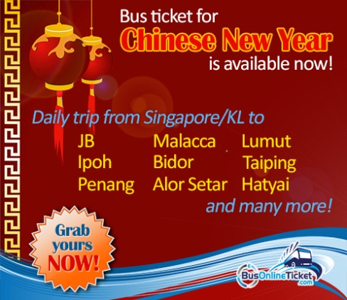 chinese new year bus ticket